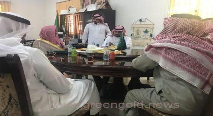 سُعدنا بزيارة رئيس دوائر الحجز والتنفيذ بمحافظة طبرجل